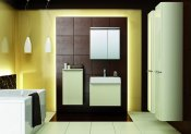 Łazienka, meble łazienkowe San Remo Wanilia