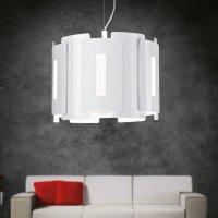 lampa wisząca w salonie