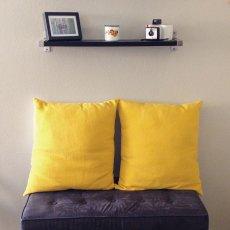Poduszki dekoracyjne, żółte