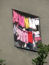 ubrania - malowidło